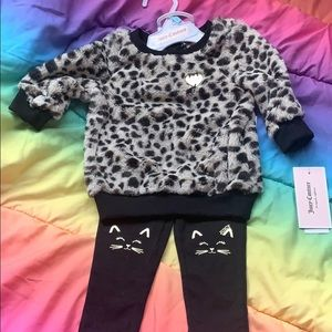 Juicy Couture 2-Piece matching Set 6-9 mos NWT